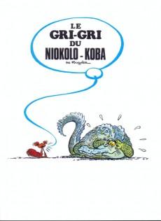 Extrait de Spirou et Fantasio - La collection (Cobra) -27- Le Gri-Gri du Niokolo-Koba