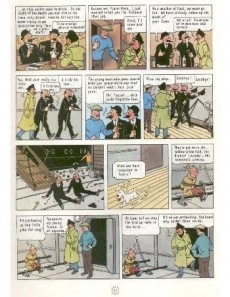 Extrait de Tintin (The Adventures of) -9- The Crab with the Golden Claws