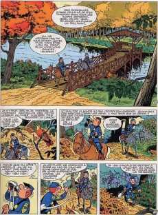 Extrait de Les tuniques Bleues -13a1979- Les bleus dans la gadoue