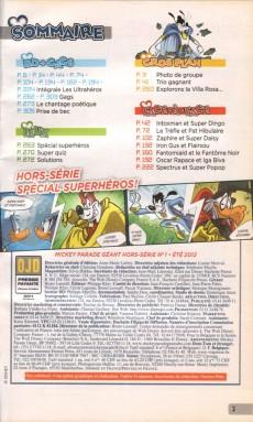 Extrait de Mickey Parade Géant Hors-série / collector -1HS01- Les Ultrahéros