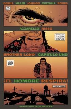 Extrait de 100 Bullets: Brother Lono (2013) -1- !El Hombre Respira!