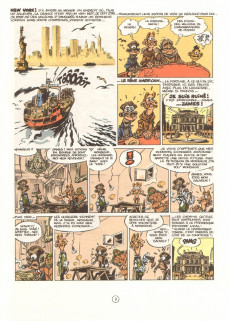 Extrait de Spirou et Fantasio -39- Spirou à New York