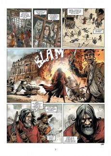 Extrait de Le sang du dragon -7- L'Homme au masque de fer