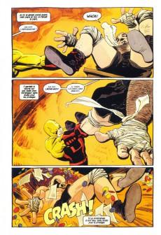 Extrait de Daredevil (100% Marvel - 1999) -3- Jaune