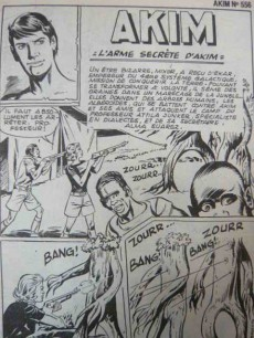 Extrait de Akim (1re série) -556- L'arme secrète d'Akim