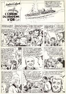 Extrait de André Lefort -1- L'énigme du diadème d'or