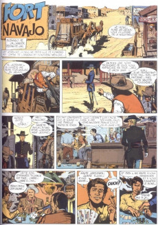 Extrait de Blueberry - La collection (Hachette) -101- Fort Navajo