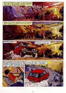 Extrait de Lefranc -6a1986- Opération Thor