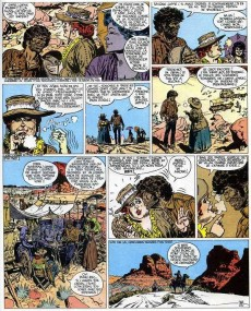 Extrait de Blueberry -11b1973- La mine de l'Allemand perdu