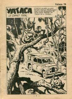 Extrait de Yataca (Fils-du-Soleil) -78- Le carnet fatal