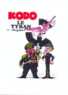 Extrait de Spirou et Fantasio - La collection (Cobra) -30- Kodo le tyran