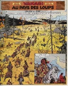 Extrait de Yakari -8- Au pays des loups