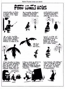 Extrait de Petits contes noirs -1- La fin du monde et autres petits contes noirs