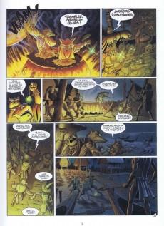 Extrait de De Cape et de Crocs -4- Le Mystère de l'île étrange