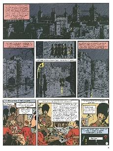 Extrait de Blake et Mortimer (Les Aventures de) -6Monde- La marque jaune