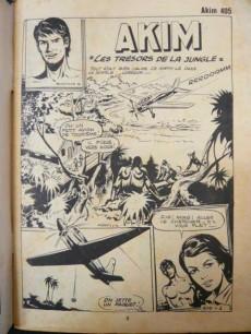 Extrait de Akim (1re série) -405- Les trésors de la jungle