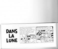 Extrait de Tintin - Pastiches, parodies & pirates - Dans la lune