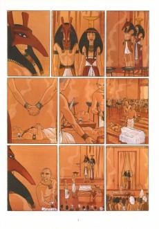Extrait de Sur les terres d'Horus -2- Meresankh ou le choix de Seth