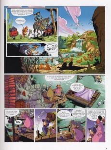 Extrait de Merlin (Munuera) -5- Tartine et Iseult