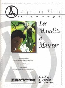 Extrait de L'envoyé -1- Les Maudits à Maletor