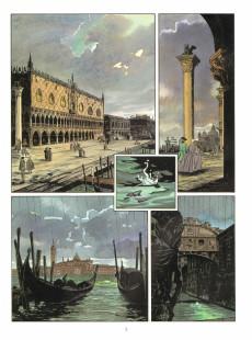 Extrait de Les suites Vénitiennes -3- Exil