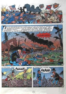 Extrait de Les tuniques Bleues -31c09- Drummer boy