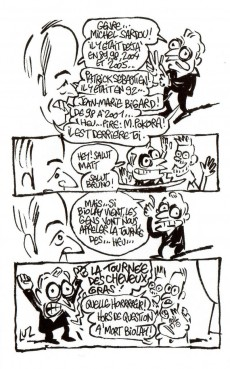 Extrait de J'aime vraiment pas la chanson française