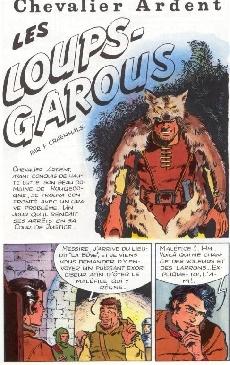 Extrait de Chevalier Ardent (Rijperman et autres) -4ES- Les Loups-Garous