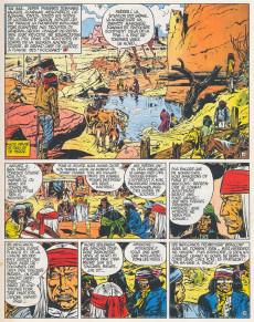 Extrait de Blueberry - La collection (Hachette) -505- La Piste des Navajos