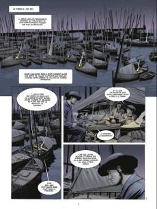 Extrait de Les chasseurs d'écume -3- 1913, le patron de pêche
