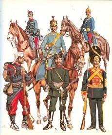 Extrait de (AUT) Funcken -U1 2- Le costume et les armes des soldats de tous les temps - De Frédéric II à nos jours