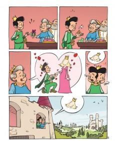 Extrait de La princesse au petit pois