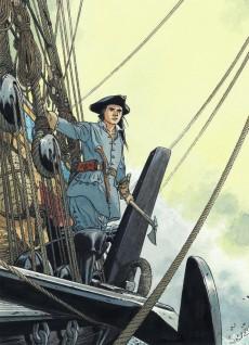 Extrait de Épervier (Les rendez-vous de l') -INT- Les escales d'un corsaire