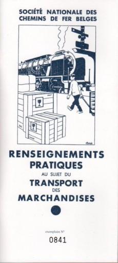 Extrait de (AUT) Hergé -96FS- 34 dessins d'Hergé oubliés !