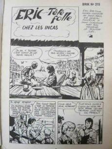 Extrait de Brik (Mon journal) -Rec60- Album N°60 (du n°215 au n°217)