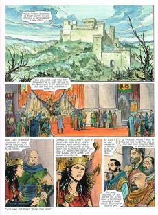 Extrait de Thorgal (Les mondes de) - Kriss de Valnor -4- Alliances