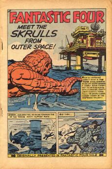 Extrait de Marvel Collectors' Item Classics (1965) -1- Marvel Collectors' item classics