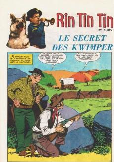 Extrait de Rin Tin Tin & Rusty (2e série) -99- Le secret des kwimper