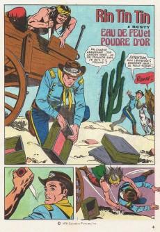 Extrait de Rin Tin Tin & Rusty (2e série) -100- Eau de feu et poudre d'or