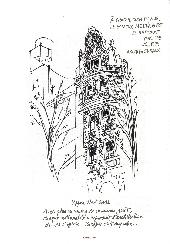 Extrait de Cabu (voyages au bout du crayon) - New York
