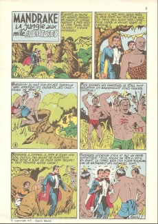 Extrait de Mandrake (1re Série - Remparts) (Mondes Mystérieux - 1) -426- La jungle aux mille aventures