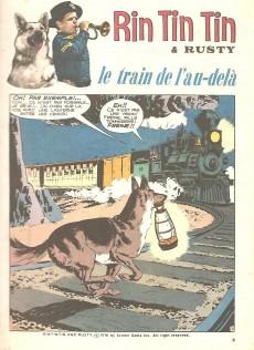 Extrait de Rin Tin Tin & Rusty (2e série) -83- Le train de l'au-delà