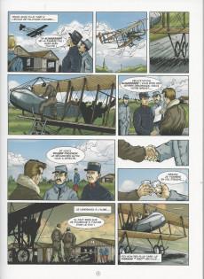 Extrait de Histoires de pilotes -5- Charles Nungesser - L'ange de fer