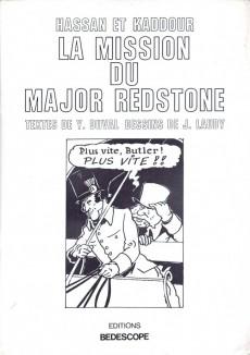 Extrait de Hassan et Kaddour -2- La mission du Major Redstone