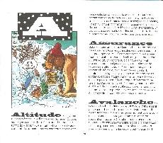 Extrait de Illustré (Le Petit) (La Sirène / Soleil Productions / Elcy) - Le ski illustré de A à Z