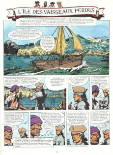Extrait de Barbe-Rouge -19- L'île des vaisseaux perdus