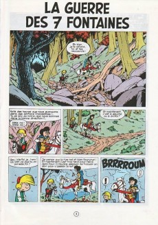 Extrait de Johan et Pirlouit -10b77- La guerre des 7 fontaines