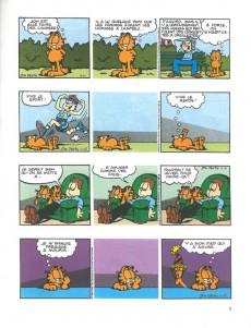 Extrait de Garfield -25a1999- Garfield est sur la mauvaise pente