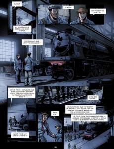 Extrait de Combattants du rail -2- Des cheminots en enfer