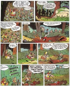 Extrait de Astérix (en italien) -4- Astérix gladiatore